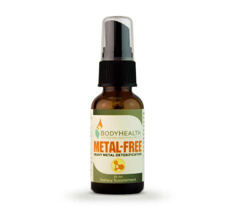 Metal Detox Spray by Metal Free Heavy Metal Detox Spray