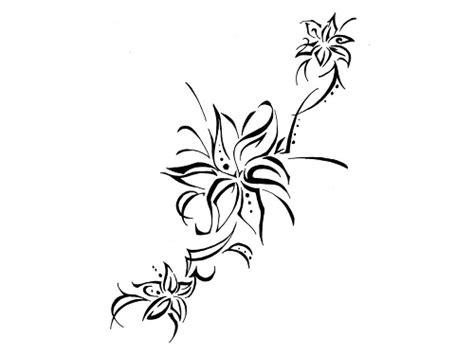 tribal tattoo flower designs 22 amazing tribal flower tattoos only tribal