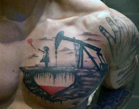 oilfield tattoos chest oilfield tattoos golfian