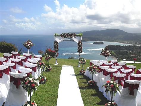 Wedding Locations in Jamaica   Jamaica Wedding with a View
