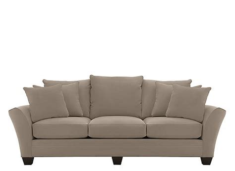briarwood microfiber sofa briarwood microfiber sofa mineral raymour flanigan