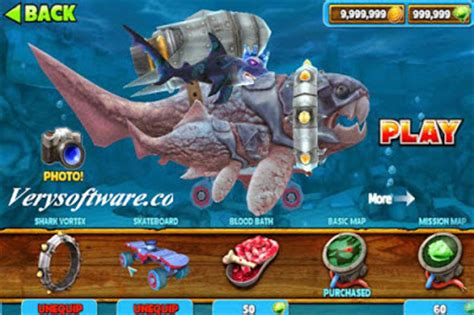 download game hungry shark evolution mod versi terbaru hungry shark evolution v4 6 4 mega mod apk terbaru