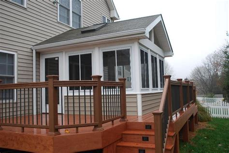 sunroom with deck for the home pinterest sunrooms and decks sunrooms and decks