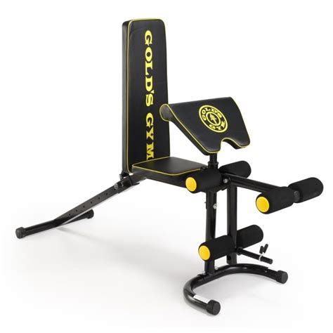 golds gym weight benches golds gym deluxe maxi weight bench review