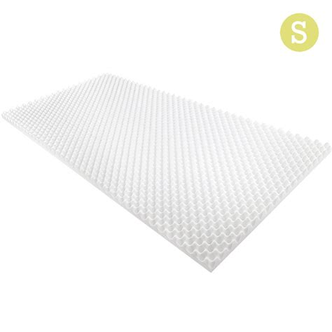 egg crate mattress topper deluxe egg crate mattress topper 5 cm underlay protector single wholesales direct