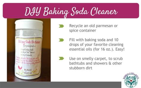 baking soda upholstery cleaner go green and get clean with essential oils my merry