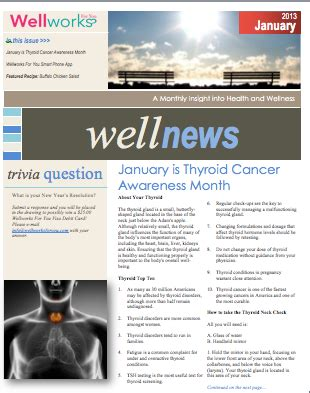 health and wellness newsletter template health wellness wellness newsletter