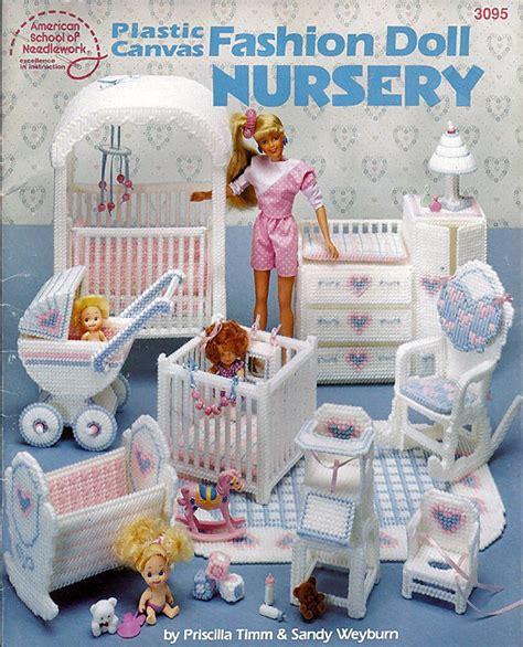fashion doll nursery plastic canvas furniture fashion doll nursery american
