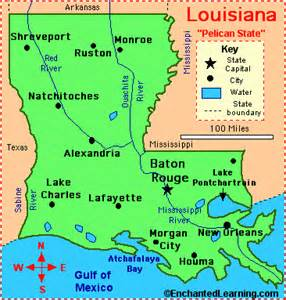 map of and louisiana border looziana what to wear where by j lewis