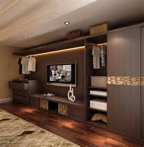 bedroom closet with tv cabinet home design inside