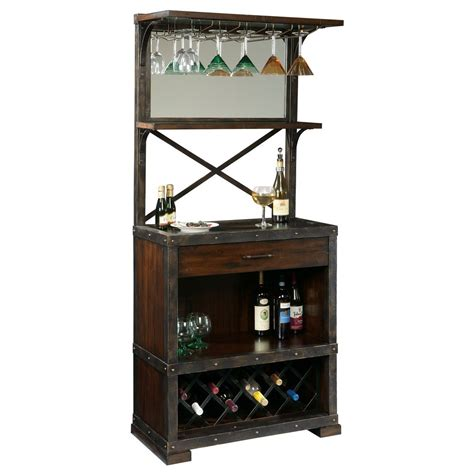 Bar Cabinet Furniture by Howard Miller Mountain Home Bar And Wine Cabinet 695138