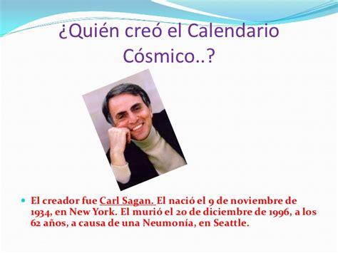 Calendario Cosmico Calendario C 243 Smico Presentaci 243 N