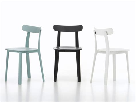 jasper morrison collection for vitra introduces all plastic chair at salone del mobile 2016