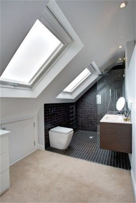 Loft Bedroom With Bathroom 25 Best Ideas About Attic Conversion On Loft