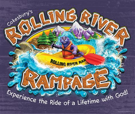 vacation bible school vbs 2018 rolling river rage decorating mural experience the ride of a lifetime with god books abingdon press vacation bible school vbs 2018 rolling