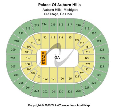 palace of auburn hills floor plan disney on ice 2017 palace of auburn hills seating chart