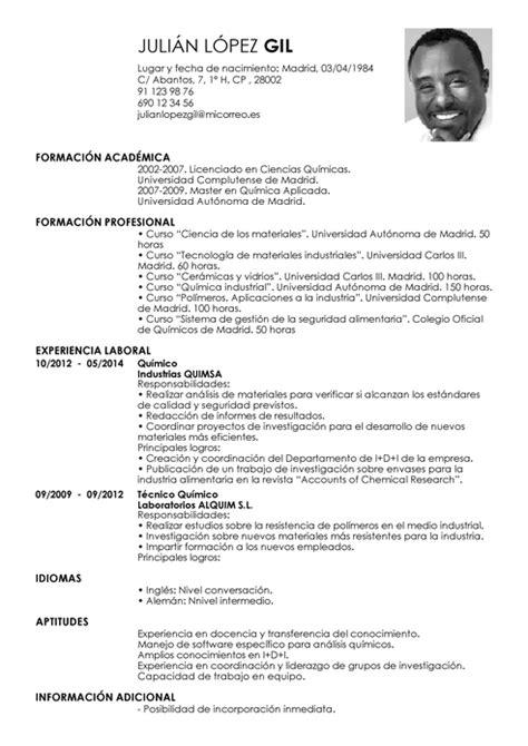 Modelo Curriculum Vitae Seguridad Privada Modelo De Curr 237 Culum V 237 Tae Qu 237 Mico Qu 237 Mico Cv Plantilla Livecareer