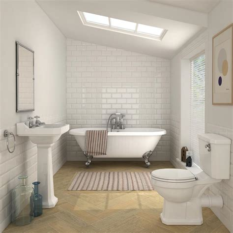 Freestanding Baths With Shower Over carlton traditional double ended freestanding bath suite