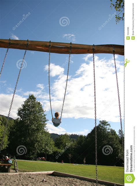 biggest swing big swing stock photo image of park high vacation