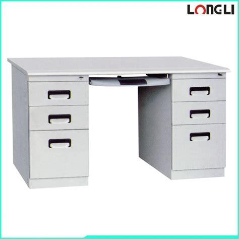 modern steel desk modern steel office desk organizer office desk drawer