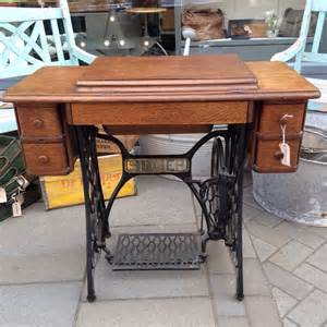 vintage singer sewing machine table the consortium