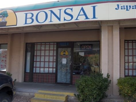 Japanese Kitchen In El Paso Tx Bonsai El Paso Tx