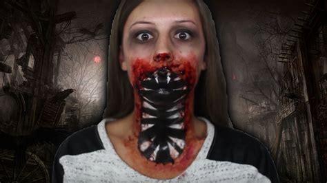 imagenes de halloween maquillage maquillage halloween monstre youtube