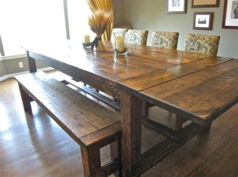 How To Build A Farmhouse Kitchen Table How To Make A Diy Farmhouse Dining Room Table