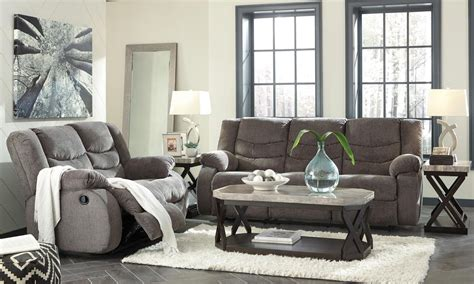 livingroom packages tulen gray 5 piece living room package sofas living room
