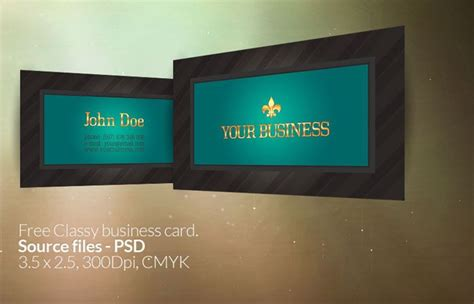 9 photoshop business card psd images free business card