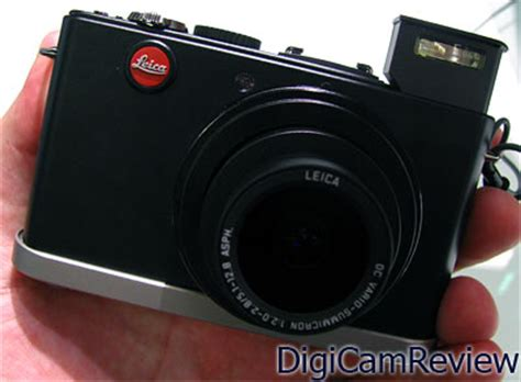 Leica D 3 Ultracompact Digicam Packs In 10 Megapixels by Digicamreview Leica D 4 System At Photokina