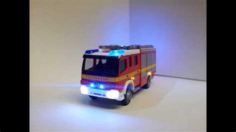 beleuchtung für modellautos 1 87 feuerwehr l 246 schzug mercedes herpa 1 87 mit beleuchtung