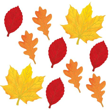 free printable fall leaves 5 best images of fall cutouts printable printable fall