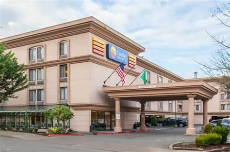 Comfort Inn Suites Seatac Wa Sea Airport Hotel Parking