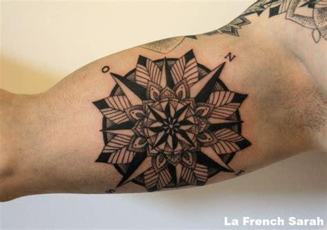 tattoo mandala bras rose des vents tatouage mandala sur int 233 rieur bras biceps