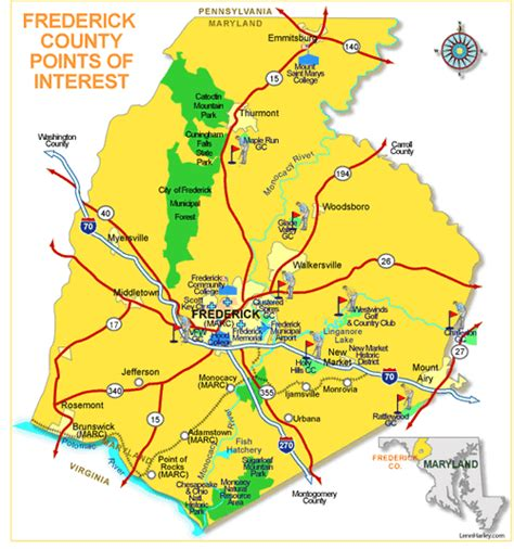 maryland map frederick county frederick county md real estate new homes frederick