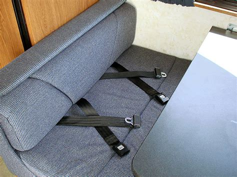 rv seat belts a bit about rvs