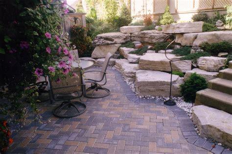 Pavers For Small Backyard Patio Decor   Landscape Designs