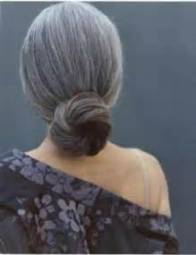 salt and pepper hair bun pin by katy nazario on estilos para el cabello pinterest