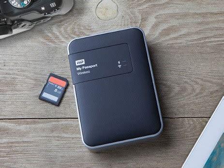 western digital launches my passport wireless hard drive