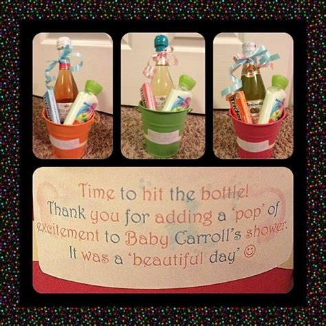 thank you gift ideas for bridal shower hostess baby shower hostess gift ideas did these for my girlfriends bottles of sparkling wine cider