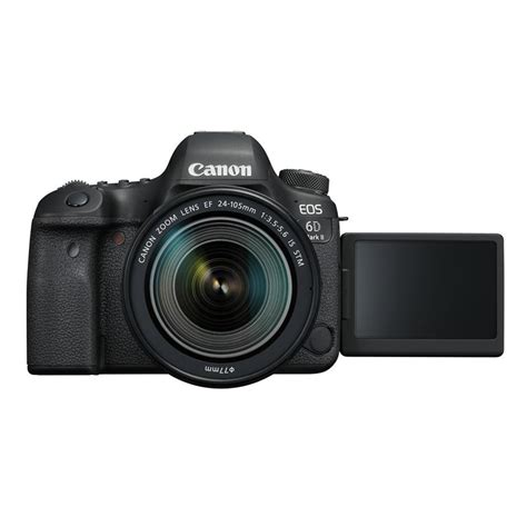 canon 6d dslr canon eos 6d ii dslr ef 24 105mm is stm lens kit