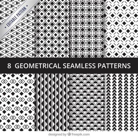 geometric seamless patterns pack vector premium download geometrical seamless pattern pack vector premium download