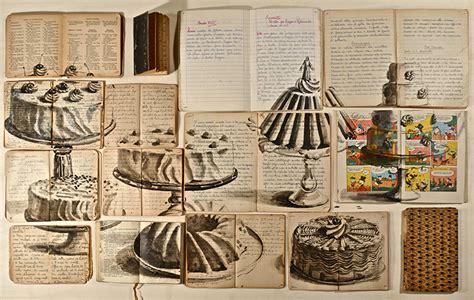become layout artist flea markets books become surprising artwork 1 design
