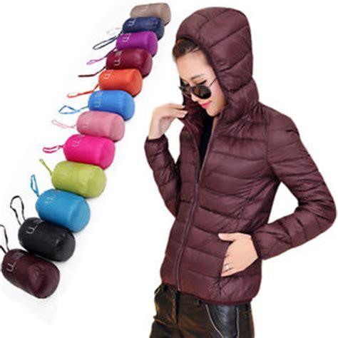 womens doudoune duvet de canard veste capuche ultra l 233 ger ext 233 rieur ebay
