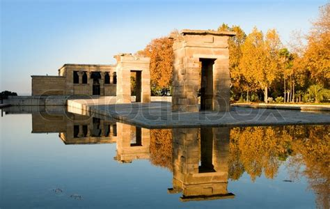 temple of debod madrid spain debod temple madrid spain stock photo colourbox