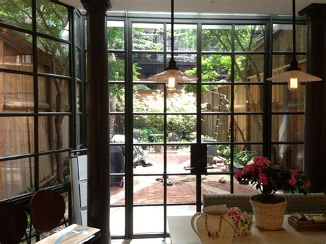 Steel Patio Door Residence Crittall Usa Contemporary Patio New York By Steel Windows And Doors Usa