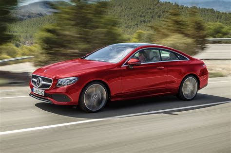 new mercedes e class coupe revealed two door on