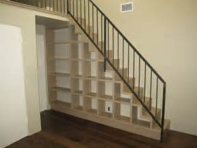 Under Stairs Bookshelf Loft Stair Cubby Storage House Design Pinterest