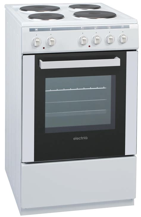 Electric Cooker electriq 50cm electric single cooker with solid hotplate